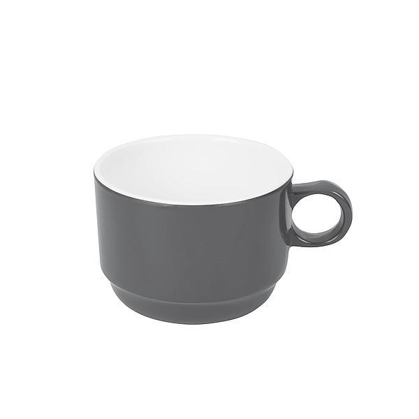 Melaminový šálek Bo-Camp 8,5 x 6,5 cm Šedá