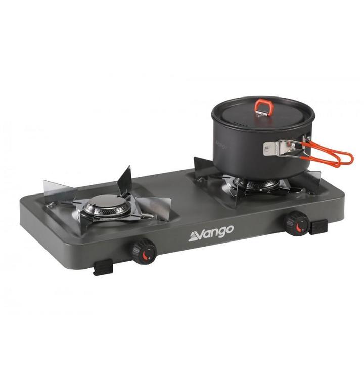 Dvouplotýnkový plynový vařič Vango