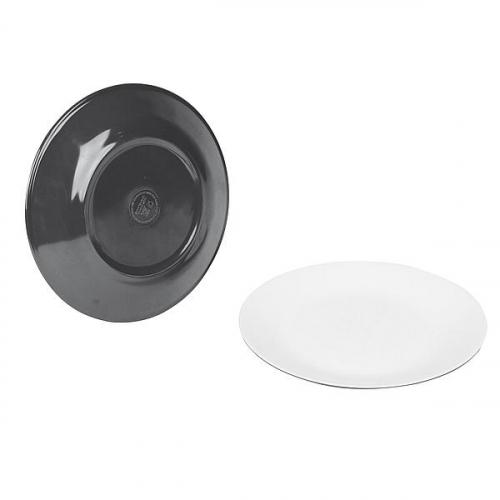 Melaninový talíř Bo-Camp Ø 21,5 cm Šedá