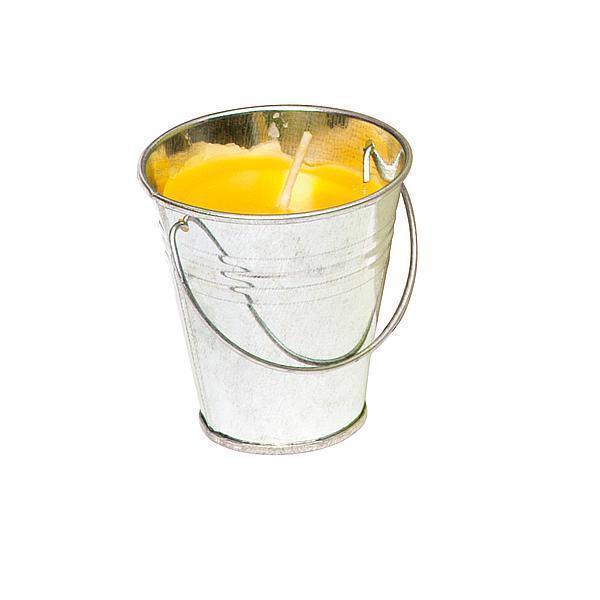 Svíčka Citronella v kyblíku